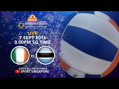Netball: Ireland vs Botswana | Mission Foods Nations Cup 2016