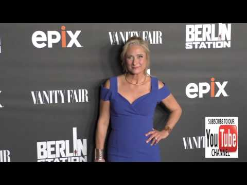 Caroline Goodall at the Premiere Of EPIX's Berlin Station at Milk Studios in Hollywood