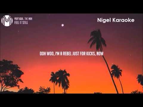 Portugal  The Man   Feel It Still Karaoke by  Nigel