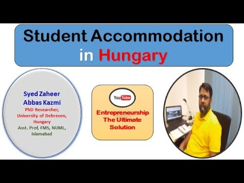 STUDY IN HUNGARY PART - 3  || STUDENT ACCOMMODATION IN HUNGARY