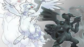 Pokemon Black English Walkthrough 54 - The Legendary Dragons Zekrom and Reshiram!