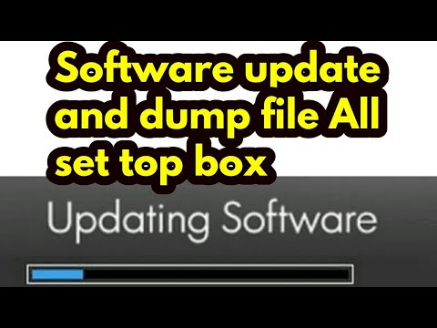 Cemex Set Top Box Software Update and Dump File Making : LightTube