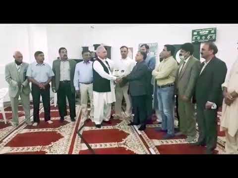 Counselate General of Pakistan Frankfurt Visit Saarbroken & Deliver Consular services