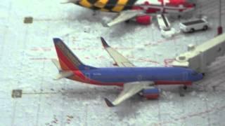 1:400 Geminijets airport snow update (December)