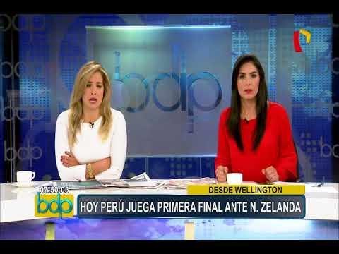 Perú vs. Nueva Zelanda: equipo de Panamericana es agredido por hinchas locales