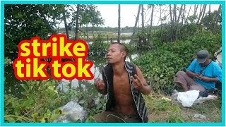 Download Mp3 Tik Tok Mancing!!!!,,strike Dan Stress Si Kepala Botak-mancing Bandeng Di Sungai