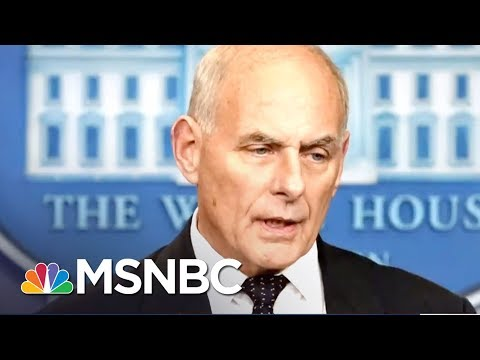 Combat Veterans Respond To John Kelly's Defense Of President Donald Trump | The 11th Hour | MSNBC