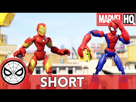 """Spidey & Iron Man Spring Into Action 