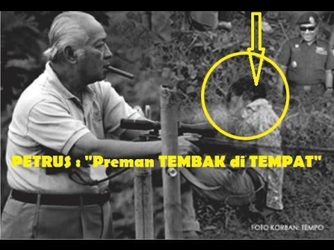 """""""PETRUS"""" Sniper Misterius PAHLAWAN di ERA Presiden Suharto.Benarkah MILITER TNI Indonesia Terlibat?"""