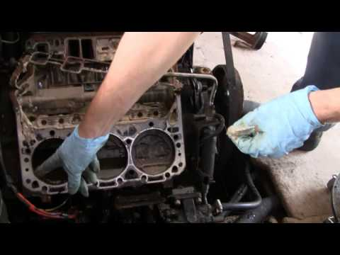 MAJOR BOAT ENGINE REPAIR (part 1)