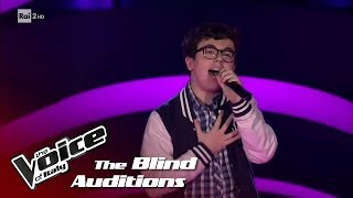 "Andrea Tramacere ""Cake by the ocean""- Blind Auditions #1 - The Voice of Italy 2018"