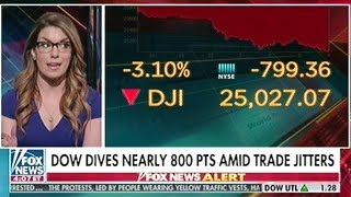 Dow Jones Plunges 800 Points! Over China Trade Fears