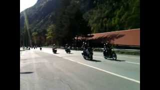 Moto raduno Domodossola Sempione 05/05/2013