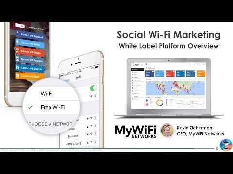 MyWiFi Networks: Social Wi-Fi Marketing White Label Platform
