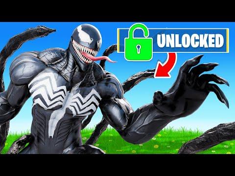 Unlocking *VENOM* in FORTNITE!