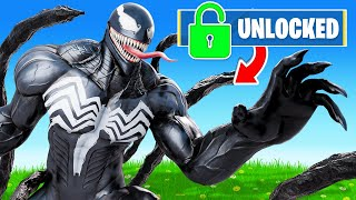 Unlocking *VENOM* in FORTNITE!