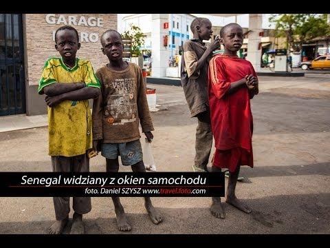 Senegal widziany z okien samochodu - Africa