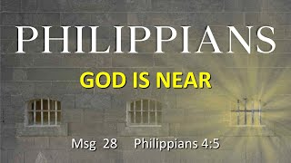 Philippians: Do Not Stray, Do Not Wonder - God Is Near (June 21, 2020)