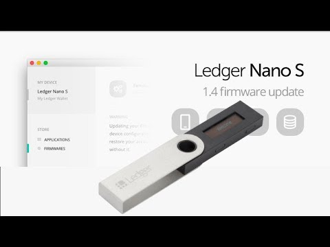 Ledger nano s firmware update 1. 4. 1 como instalar? Youtube.
