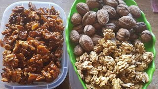 Easy Way To Make Caramelized Walnuts.