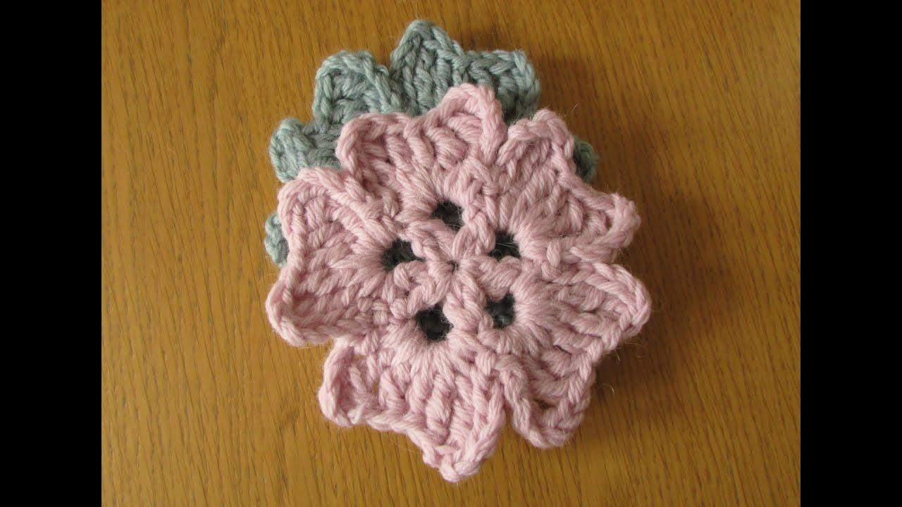 VERY EASY crochet coaster tutorial - crochet coaster for beginners ...
