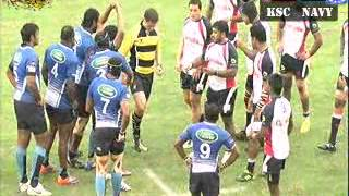www.thescore.lk - DIalog Rugby League : Kandy SC Vs Navy SC - First Half