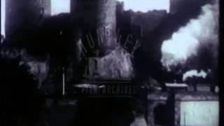 Conway Castle Railway, 1920's - Film 4177