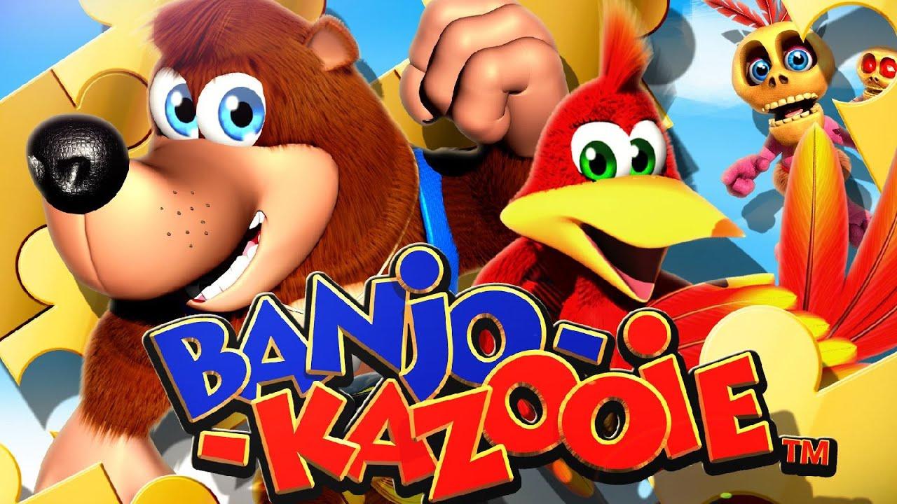 Resultado de imagem para Banjo Kazooie