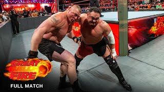 FULL MATCH - Brock Lesnar vs. Samoa Joe - Universal Title Match: WWE Great Balls of Fire 2017