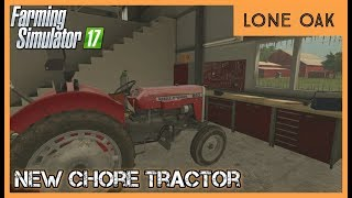 FIXING THE NEW TRACTOR | Lone Oak Ep. 8 | FS17