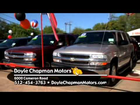 Used Car Austin TX Doyle Chapman Motors