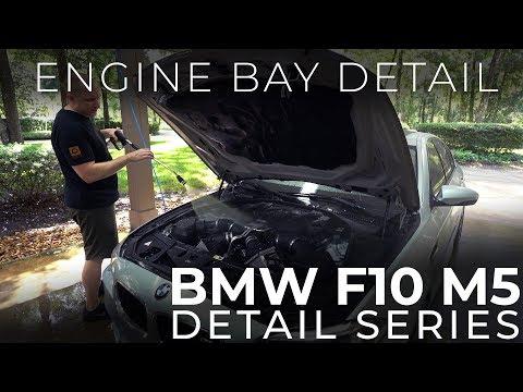 BMW F10 M5 Detail Series: E2 - Engine Bay Detail