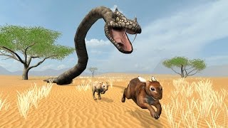 Snake Chase Simulator (by Wild Foot Games) Android Gameplay [HD]