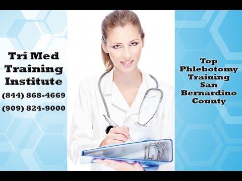 Best Phlebotomy Training San Bernardino County