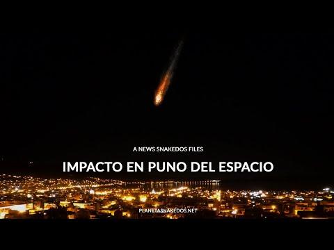 IMPACTO EN PUNO HACIA LO EXTRAORDINARIO DEL ESPACIO