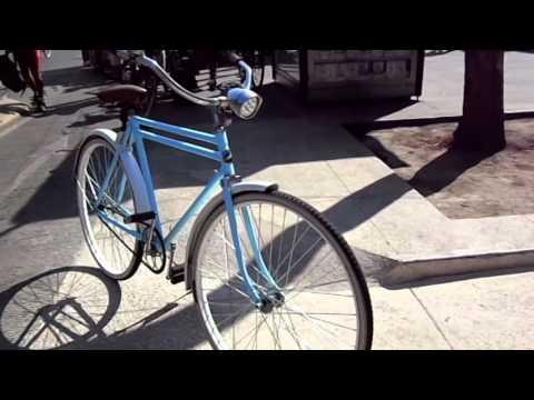 Bicicleta Antigua Windsor - YouTube