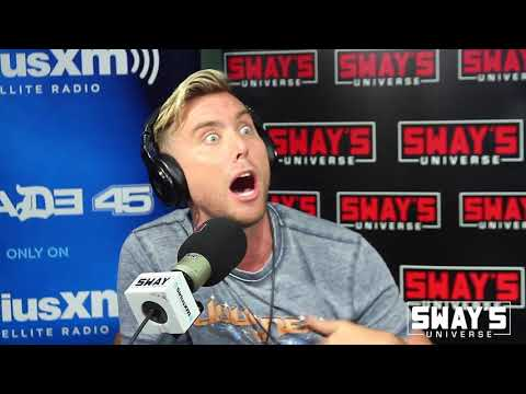 Lance Bass Sits In On Celebrity Wire on Sway In The Morning