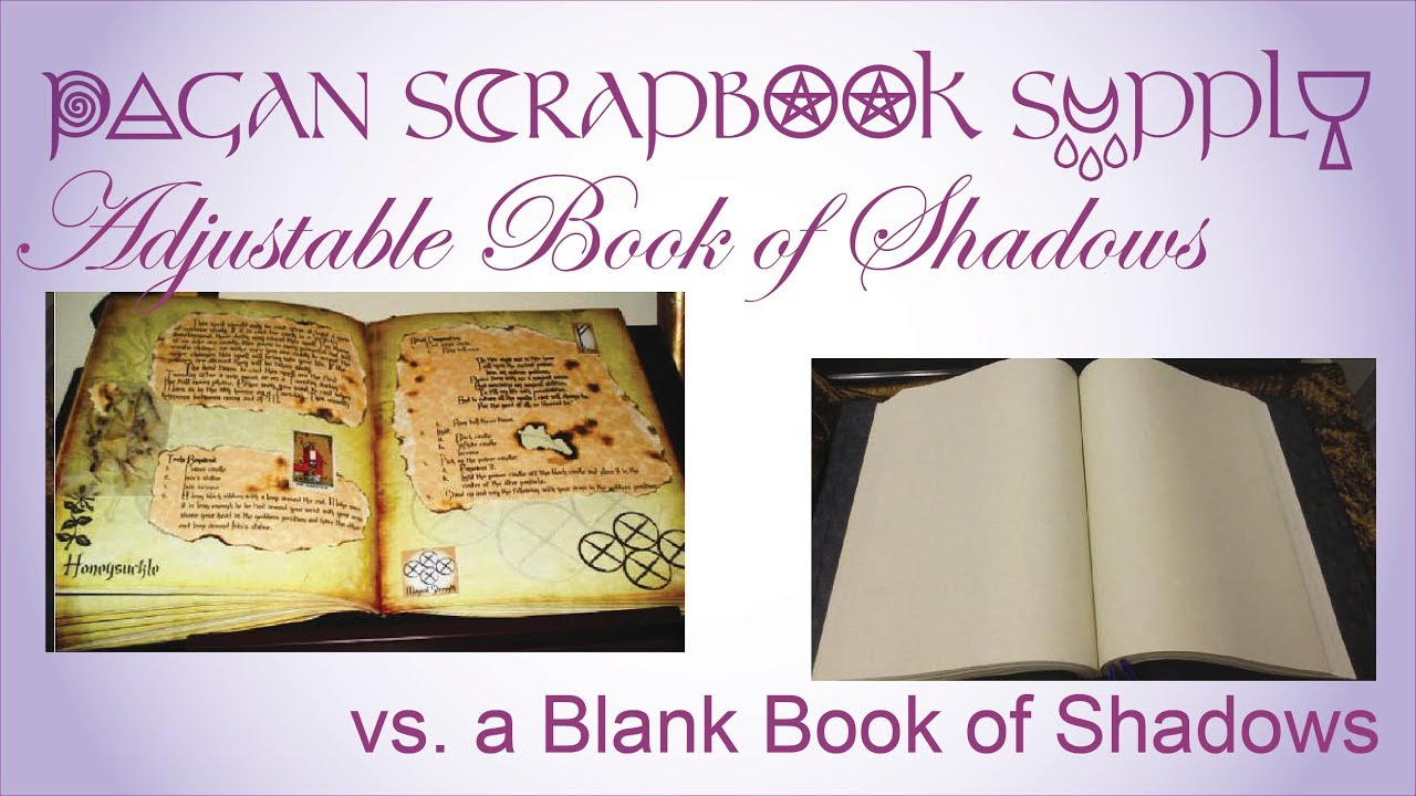 Pagan Scrapbook Supply Our Fully Adjustable Book of