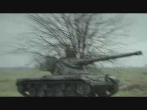 Skeet Shooting in a Tank - Carlton Dry