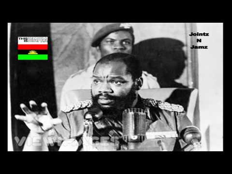 OJUKWU's SPEECH THE BIAFRANS DURING THE NIGERIAN BIAFRA WAR pt.1