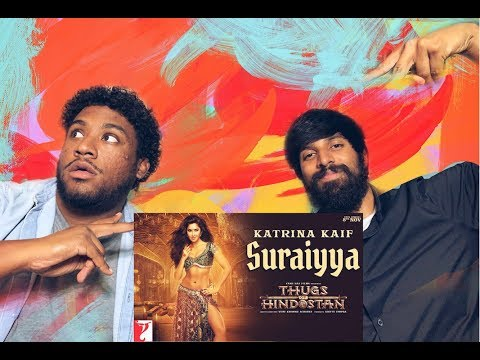 Suraiyya REACTION | Thugs Of Hindostan | Katrina Kaif | Aamir Khan