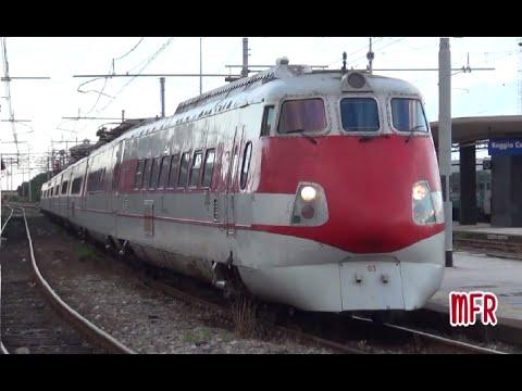 Treni alle stazioni di REGGIO CALABRIA CENTRALE, REGGIO CALABRIA O.ME.CA e VILLA S.GIOVANNI.