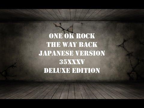 ONE OK ROCK -The Way Back Japanese ver. lyrics video