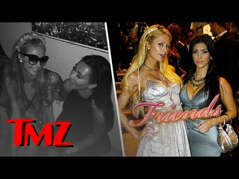Kim Kardashian and Paris Hilton Are Friends Again!! | TMZ