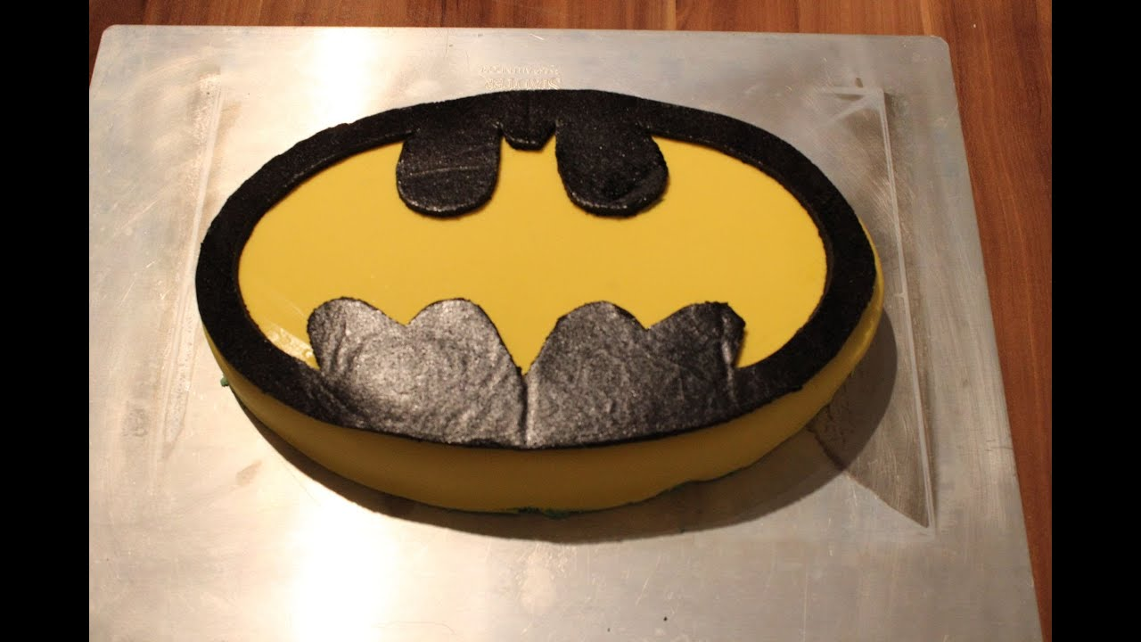 batman kuchen backen f r superhelden kindergeburtstag youtube. Black Bedroom Furniture Sets. Home Design Ideas