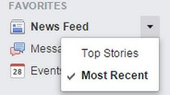 "How to Make Your Facebook News Feed Default to ""Most Recent"""