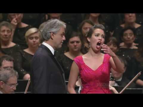 Andrea Bocelli, Nadine Sierra - Duet: Lucia Di Lammermoor - Richard Tucker Opera Gala 2016