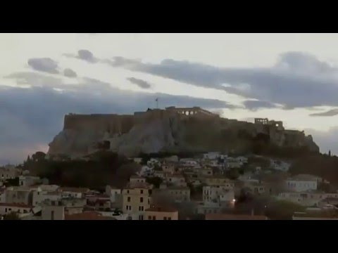 Timelapse Akropolis Parthenon Greece