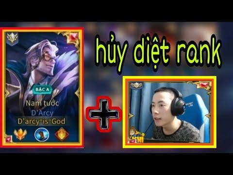 Top 1 Darcy Kết Hợp Cùng Dk Khỉ Hủy Diệt Rank Cao Thủ