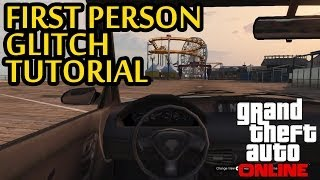 GTA 5 Online - First Person View Glitch - How To Play In First Person View (GTA V Glitches)